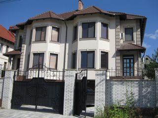 Продаётся 3-ёх этажный элитный дом,320 м2. Дурлешты,1-й Балканский переулок.