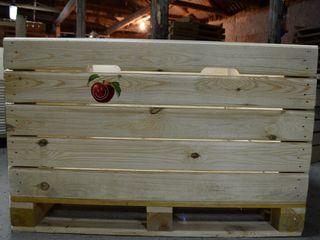 Containere din lemn pentru fructe si legume / Контейнеры деревянные для фруктов и овощей