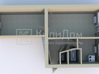 2 комнатная квартира, 48 кв.м., 3 этаж, не угловая