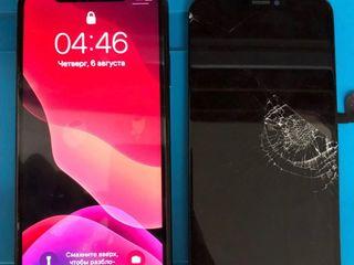 Schimbarea ecranului la iPhone (display touch-screen)