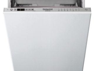 Mașină de spălat vase hotpoint-ariston hsic 3t127 gri