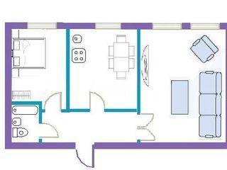 Urgent. Apartament cu 2 odai. Varianta sura.