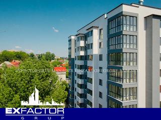 Exfactor Grup, sect. Botanica, parcul Valea Trandafirilor, 2 camere 75 m2 in bloc dat in exploatare!