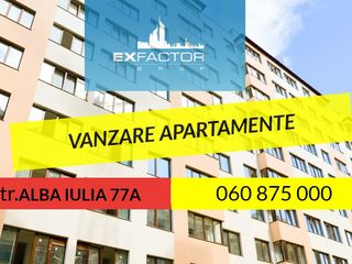 Alba Iulia, Exfactor, 3 odăi, 96mp, !!