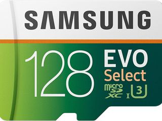 Высокоскоростная карта Samsung EVO Select 128GB U3 100MB/s