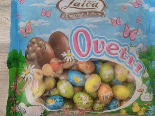 Ouă de ciocolată și alte bomboane,Lavazza, pellini, vergnano, ulei, ton, parmezan,prosciutto italia!