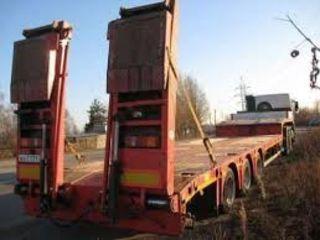 Трал для перевозки спец техники до 20 тонн