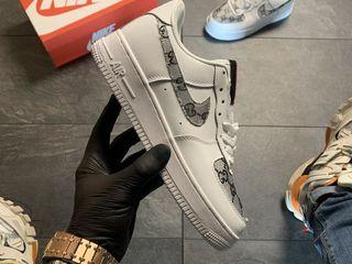 Nike Air Force Low White GG Custom Women's