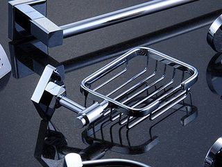 Навеска и монтаж аксессуаров для кухни и ванной. Установка на кафельную плитку.