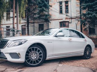 Reducere! Mercedes S Class W222 AMG Long S65 alb (nr. MBS 1)
