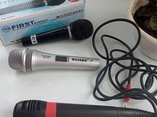 Микрофоны ,новые по 300 леев