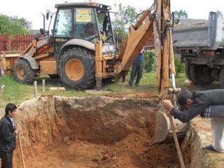 Servicii terasament: bobcat miniexavator buldoexcavator kamaz