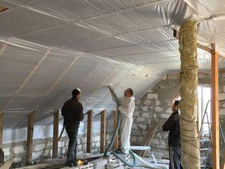 Ecovata termoizolarea acoperisurilor, mansardelor si podurilor