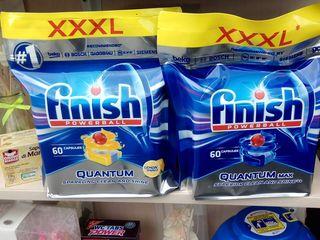 Finish Quantum Max, All in 1 Max, All in 1, Classic, Fairy Platinum, Fairy All in 1, W5, Alio...