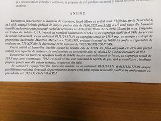 Licitatie de vinzare imobil 61.024 lei