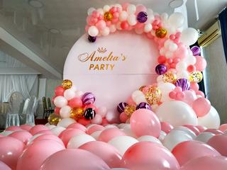 Decor cu baloane la preturi accesibile, decoratiuni pentru cumatrie, zi de nastere, botez