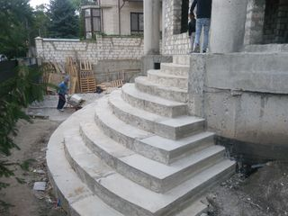 proectam si construim scari din beton armat