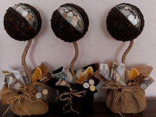 Сувениры из кофейных зерен ,кофейные игрушки