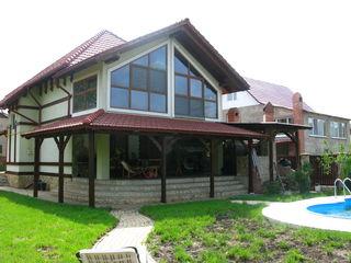 Шикарный дом-дача, 200 м от Днестра, престижный дачный поселок Пояна Ноуэ, Пырыта