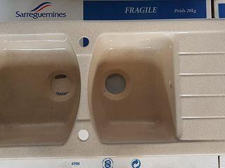 Lavoare baie / Chiuvete bucătărie / WC / Firma franceză Sarreguemines / Ceramică premium clasă