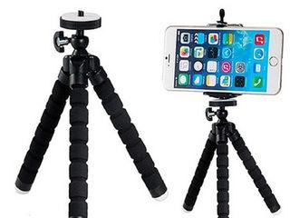 Octopus , tripod flexibil pentru telefon mobil si camera foto
