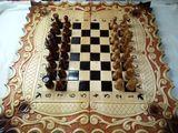 нарды шахматы резные*Карона*эксклюзив