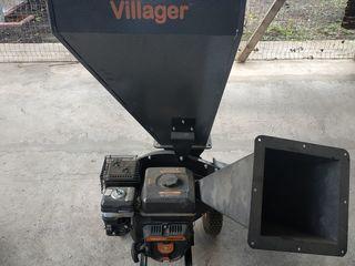 Tocator de crengi/Измельчитель веток - Villager VPC 250 S +VIDEO