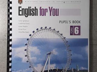 Учебник английского языка 6 класс/ manual engleza cl 6 - 139 лей