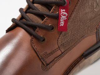 s.Oliver немецкие ботинки оригинал новые натуральная кожа утепленные 44 размерa