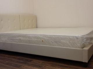 Распродажа со склада новых кроватей их экологической кожи (самый прочный материал).