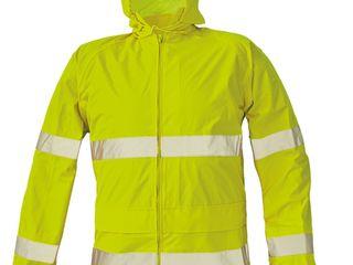 Светоотражающая непромокаемая куртка Gordon - желтая
