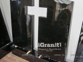 Monument dublu din granit 10000 lei! Portret si epitaf inclus.