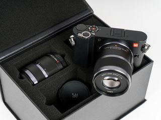 Xiaomi YI M1 Camera 4K (4096x2160) cu 2 obective,12-40mm,42.5mm.