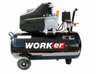 Компрессор/ compresoare Worker 24L, Worker 50 L, WORKer MV 50 L, WORKer MV 100 L
