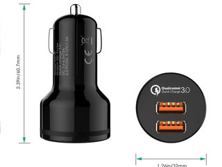 Qualcomm DualPort QuickCharge 2.0 / QuickCharge 3.0