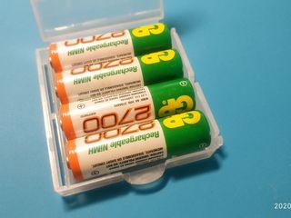 Кейс для хранения аккумуляторов и батареек