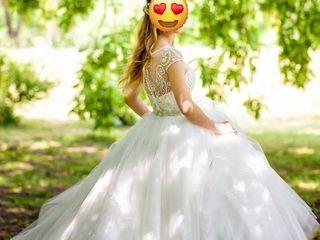 Rochie de mireasă comandata in Franta stare ideala / свадебное платье