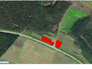 Teren  strategic, pe  traseul  m14(betonka), la 9km de la chisinau, cu suprafata de 0,75 ha.