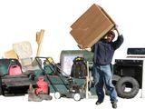 Вывозим строительный мусор. (Evacuarea gunoiului de constructie)