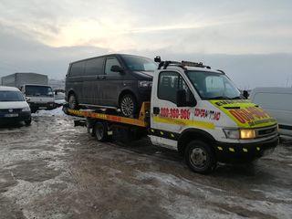 Evacuare Auto Urgentă în Moldova . Automobile. Microbuse. Tehnică specială. Serviciul 24/24.