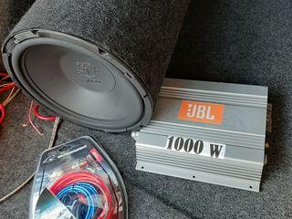 Буфер Magnat 1200w + усилитель + провода за 125евро