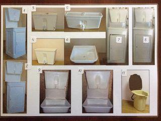Для сел, дач,гаражей - дачные умывальники с подогревом и без,дачные унитазы,туалет-ведро