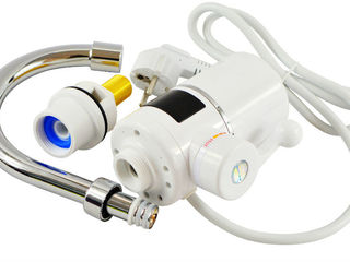 Проточный водонагреватель с дисплеем. Гарантия 2 года. Бесплатная доставка
