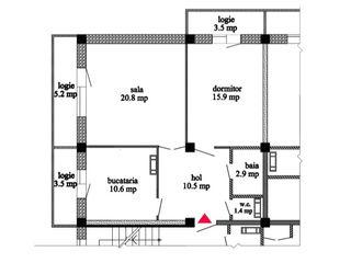 Apartamente în bloc nou, Ialoveni, de la 444 eur/mp!