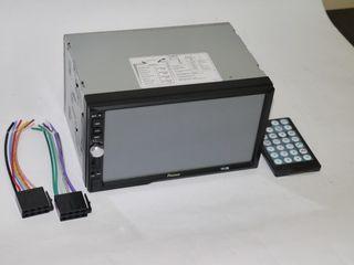 "Автомагнитола 2din pioneer 7012 7"" экран usb+bluetooth mp5. кредит!"