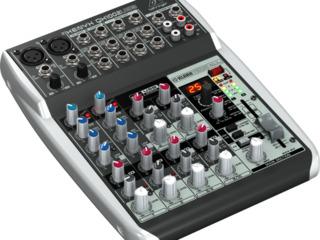 Mixer analogic Behringer Xenyx QX1002USB. livrare în toată Moldova,plata la primire