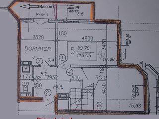 Apartamentul este in 2 nivele,Posta Veche, 143 mp !!!!