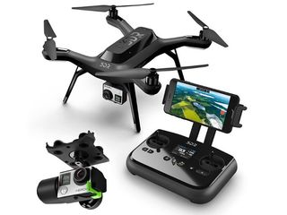 3DR SOLO Drone + 2x Solo Li Batteries + New Gimbal + 4Props
