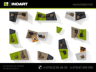 Canapele modulare. Design original