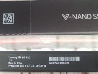 SSD 1 TB (Samsung 860 PRO)
